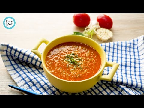 Roasted Tomato & Garlic Soup By Healthy Fusion
