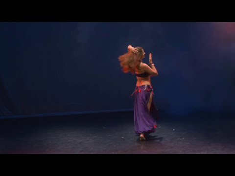 Sadie Marquardt Belly Dance Tabla Solo