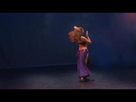Sadie Marquardt Belly Dance Tabla Solo