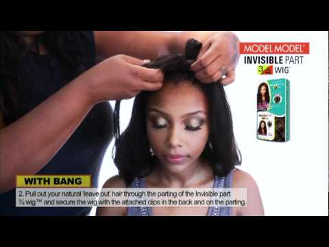 Blending Wigs With Natural Hair 24