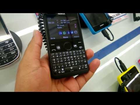 Nokia Asha 210 (QWERTY) Quick Hands on