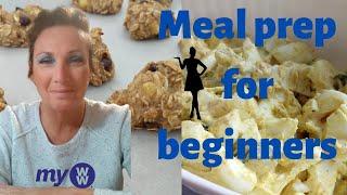 5 ideas to get started! Easy beginner WW prep