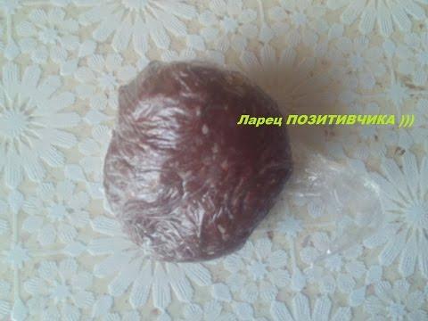Шоколадная мастика  из маршмеллоу