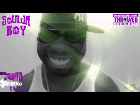Soulja Boy Ft 50 Cent * Mean Mug  HD Chopped & Screwed Music   Dj TryllDyll