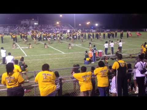 Jim Hill High School Band Field Show vs Lanier 2014