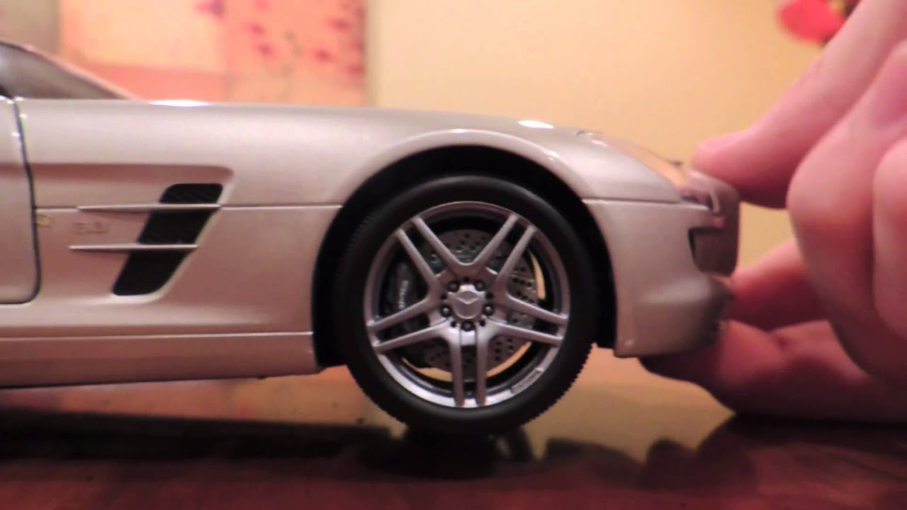 Mercedes Benz Sls Amg Review >> 1:18 Mercedes-Benz SLS AMG Review - YouTube