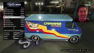 Grand Theft Auto V - Rape Van Cusomization & Missions! Road to 2K Subs!