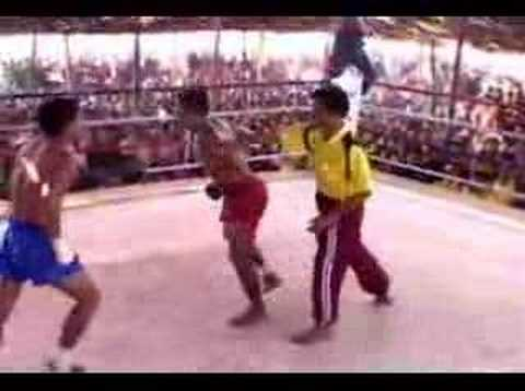 Myanmar Lethwei from Myawaddy Golden Triangle Image 1
