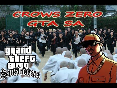 Gta San Andreas Indonesia - Tawuran Crows Zero 2 :v video