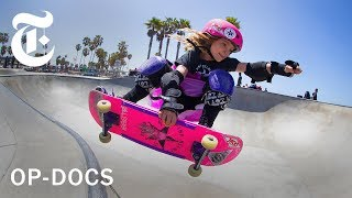 """Gnarly in Pink"": The Girl Skateboarding Posse 