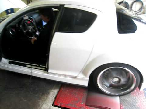 RX8 TURBO dyno Music Videos