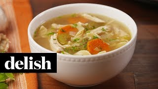 Crock-Pot Chicken Noodle Soup | Recipe | Delish
