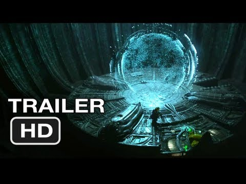Prometheus Russian Trailer #1 (2012) - Ridley Scott Alien Movie