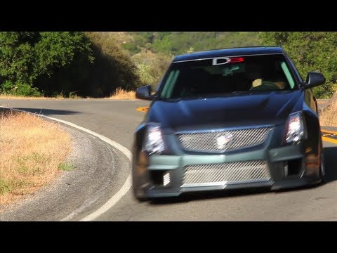 The 750 hp D3 Cadillac CTS-V -- TUNED