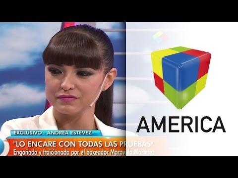 """Andrea Estévez habló del engaño y la traición de """"Maravilla"""" Martínez"""
