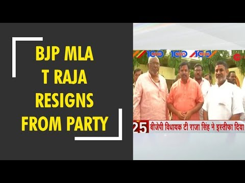 News 100: BJP MLA T Raja Singh resigns from party over cow protection