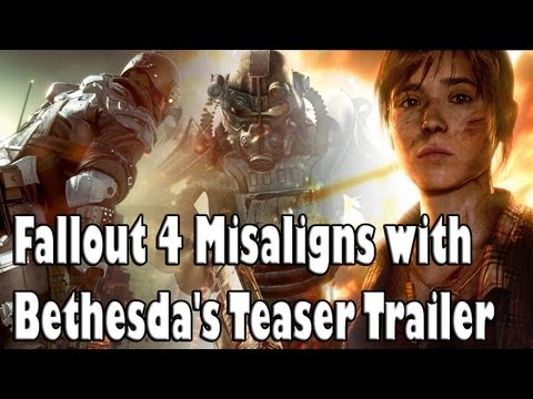 Fallout 4 Misaligns with Bethesda's Teaser Trailer