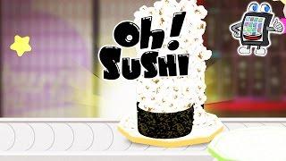 OH SUSHI App deutsch | POPCORN + FISCH?! Geschmäcker sind verschieden | Spiel mit mir Games