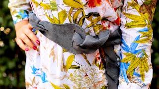 Плетеный кожаный пояс своими руками - мастер-класс