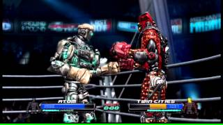 Real Steel The Video Game Atom Vs Twin Cities
