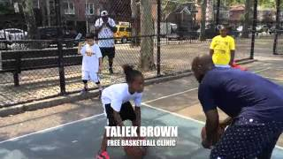 FREE Basketball Clinic with Taliek Brown 2015