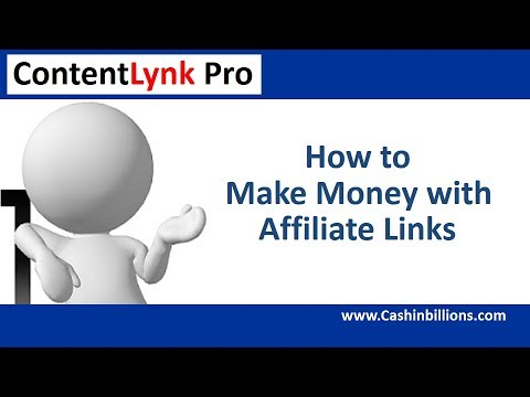 Contentlynk Pro Review Demo   How to Make Money Online with Affiliate Links