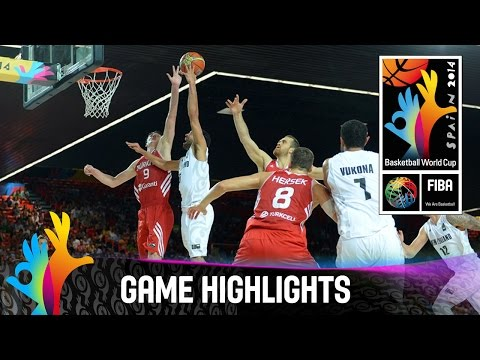 New Zealand V Turkey - Game Highlights - Group C - 2014 Fiba Basketball World Cup video