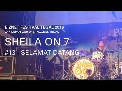 download lagu Biznet Festival Tegal 2016 : Sheila On 7 gratis