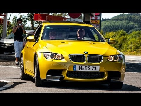 BMW M3 E92 Competition Package w/ Custom Exhaust Loud Sound! 1080p HD!