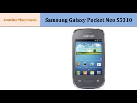 Samsung Galaxy Pocket Neo S5310, Quick Specification