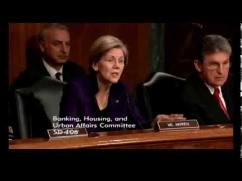 Senator Elizabeth Warren Grills Fed Chair Nominee Janet Yellen over Regulatory Policy