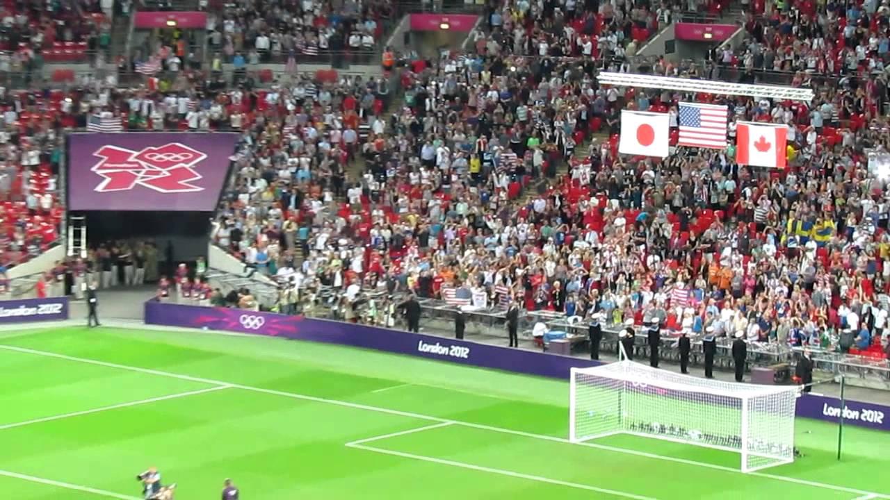 Anthem 2012 Olympics Olympics 2012 us Women's