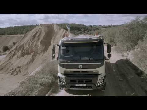 Volvo Trucks - The new Volvo FMX: Robust, great to drive and tailor-made for construction