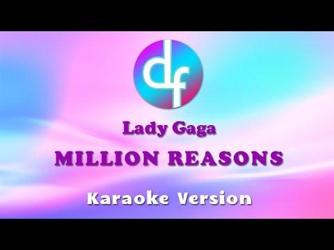 download lagu Lady Gaga - Million Reasons Karaoke/s/Instrumental gratis