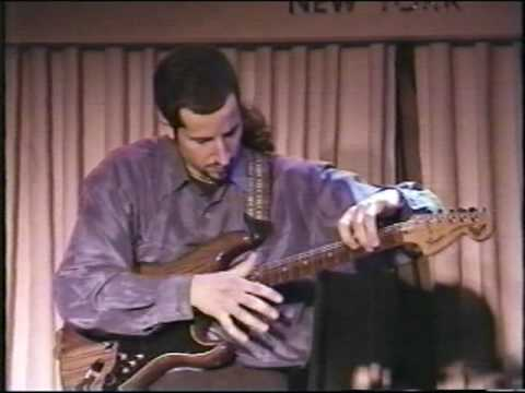 """Where the streets have no name"" by U2 performed by Anthony Mazzella at the Blue Note New York City 1998. http://anthonymazzella.com/"