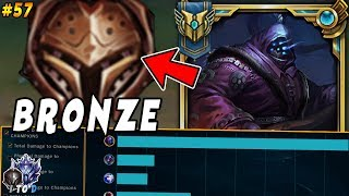 CHALLENGER Jax Goes Into BRONZE! HARD Smurfing in Bronze | Iron IV to Diamond #57 League of Legends