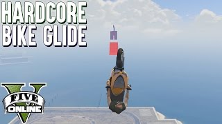 HARDCORE BIKE GLIDE + AUSRASTER 🔫 GTA 5 Custom Map 💥 GTA Online LPmitKev