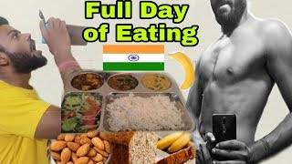 Full Day of Eating for Bulk - INDIA | Cheap Muscle Building Diet