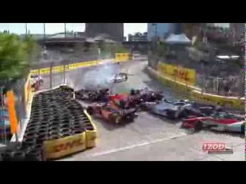 Indycar Crashes 2013 part 2