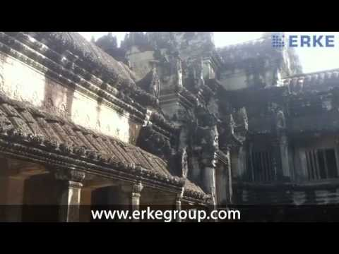ERKE Marine, Angkor Wat World's Biggest Temple - Cambodia