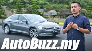 2016 Volkswagen Passat B8 2.0 TSI Highline review - AutoBuzz.my