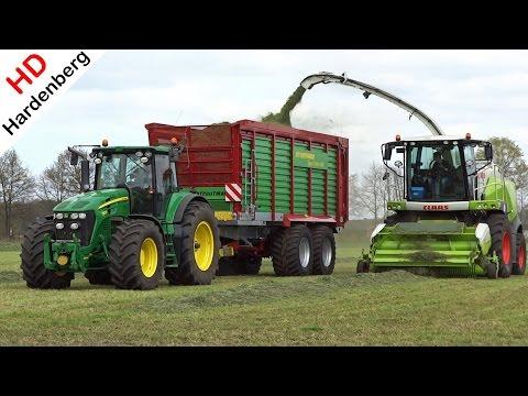 1ste Gras hakselen | 2016 | Grass silage | Fendt | John Deere | Claas | Schimmel Overberg B.V.