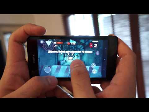 Sony Xperia ZR Gaming Review