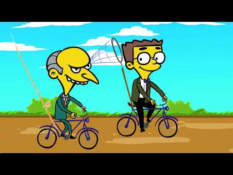 The Unofficial Smithers Love Song - (Your Favorite Martian music video)