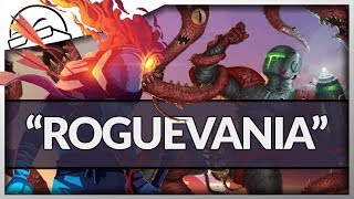 "The ""Roguevania"" - Dead Cells vs A Robot Named Fight! - (Roguelite Metroidvanias)"