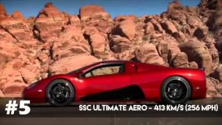Dünyanın En Hızlı 10 Arabası / 10 Fastest Cars in the World [2015] HD