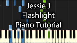 Jessie J - Flashlight Tutorial (How To Play On Piano)