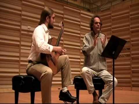 Roland Dyens Fredonia Masterclass (part 1)