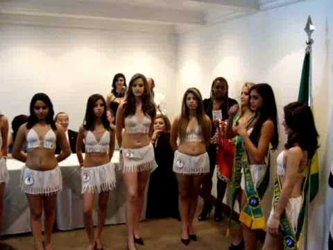 TV TOP LINE V MISS BRAZIL MODEL TEEN 2011 & COQUETEL