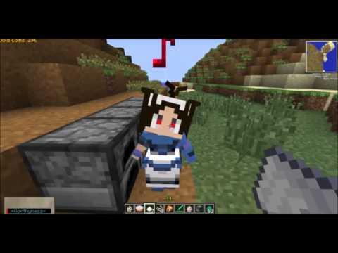 Minecraft รีวิว MOD : LittleMaidMob